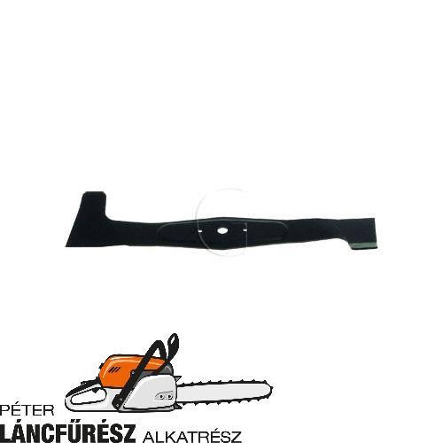 Karsit 532-050-422-533 fűnyíró kés L 521 mm, Ø szélső furatok 6,7 mm ()
