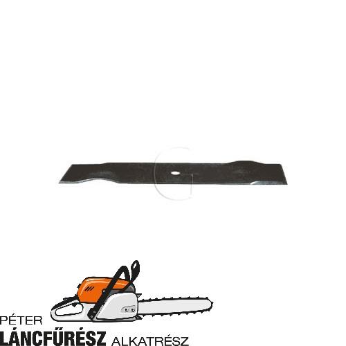 """AS 21"""" 01821, 01837, 03077, 05519 fűnyíró kés, L 500 mm, Ø szélső furatok 6,5 mm ()"""