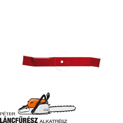 Klippo 60-00-4 fűnyíró kés, L 479 mm, Ø tengely furat 14 mm