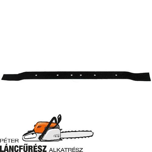 """Westwood 30"""" deck 2693 fűnyíró kés, L 760 mm, Ø szélső furatok 8 mm  ()"""