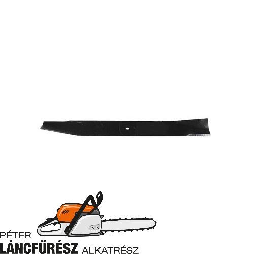 Electrolux 25036, 25036R fűnyíró kés, L 491 mm, vastagság 3,7 mm, W 57,1 mm  ()