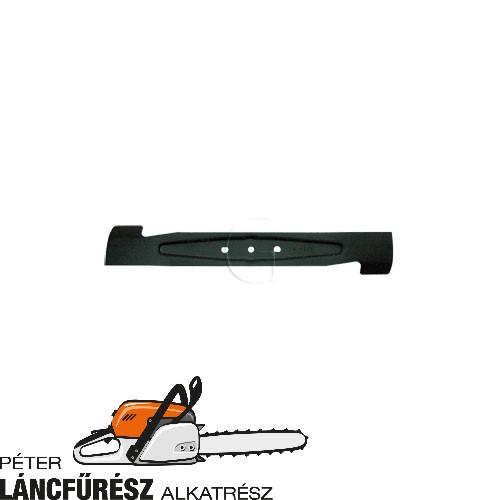 Alko Classic Plus E 449061 fűnyíró kés, L 417 mm, Ø szélső furatok 7,8 & 9,3 mm ()
