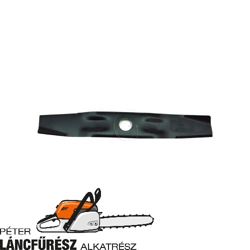 Solo 551, 552 5043347 fűnyíró kés, L 515 mm, vastagság 5,5 mm, W 65 mm  ()