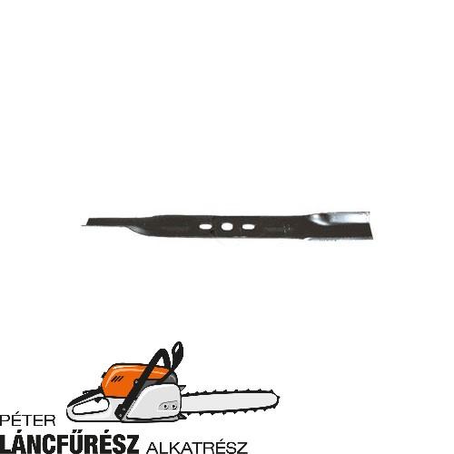 """Alko 19"""" 313931 fűnyíró kés, L 475 mm, Ø szélső furatok 20 x 12,5 mm ()"""