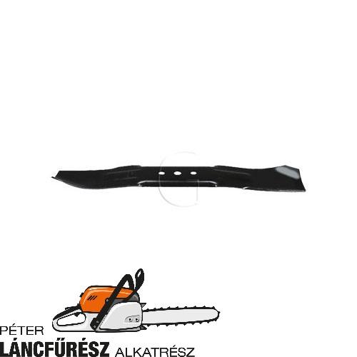 Lawn boy 608094 fűnyíró kés, L 530 mm, Ø szélső furatok 13,5 mm ()