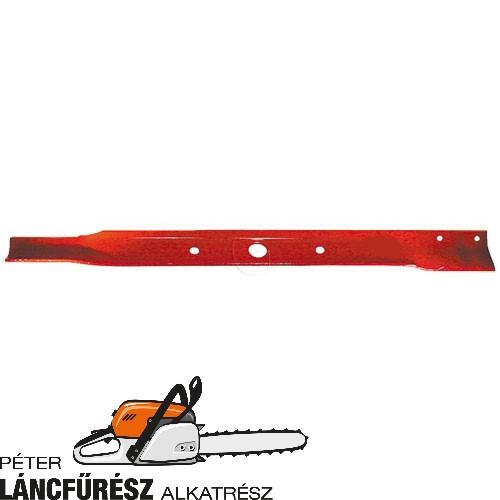 Snapper 18069 fűnyíró kés, L 762 mm, Ø szelso furatok 13,8 mm, vastagság 4,6 mm ()