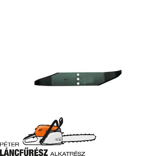 AS 434, AS 73VS 7255 fűnyíró kés, L 428 mm, Ø szélső furatok 12,3 mm ()