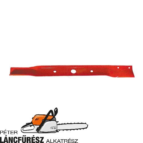 Snapper 18068 fűnyíró kés, L 660 mm, Ø szélső furatok 13,8 mm, vastagság 4,6 mm ()