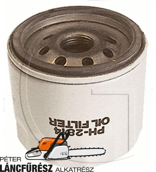 """John Deere KH1205008 olaj szűrő, menet 3/4"""" 16, H 69,8 mm, micron 32 µm"""