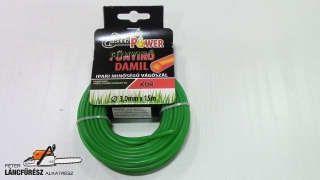 Green Power 3mm x 15m kör profilu